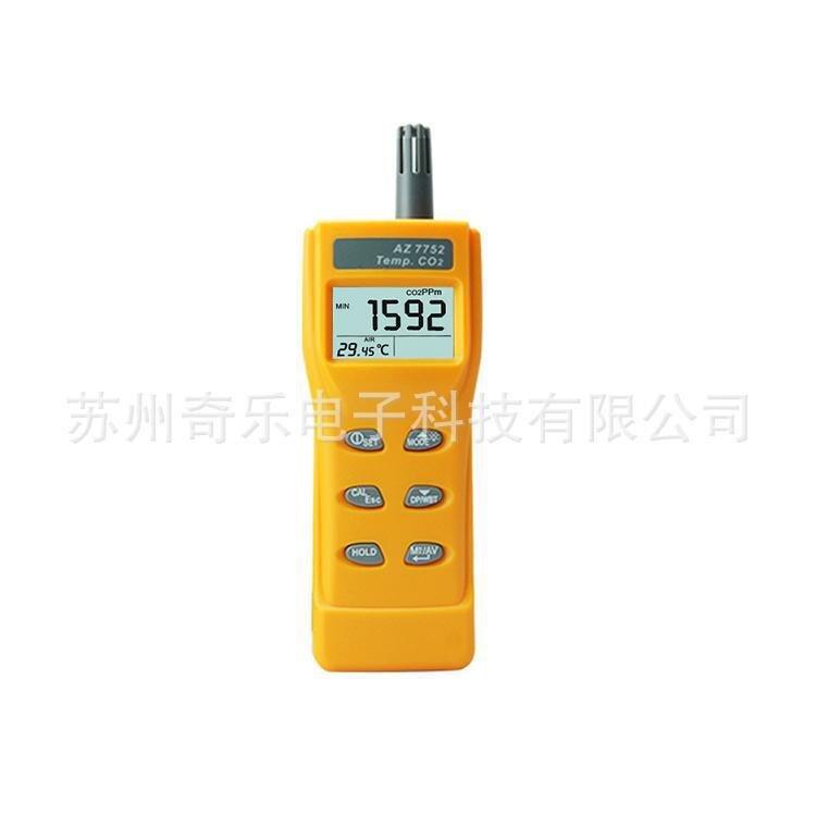 AZ77535 dióxido de carbono testador AZ7752 handheld detector de dióxido de carbono