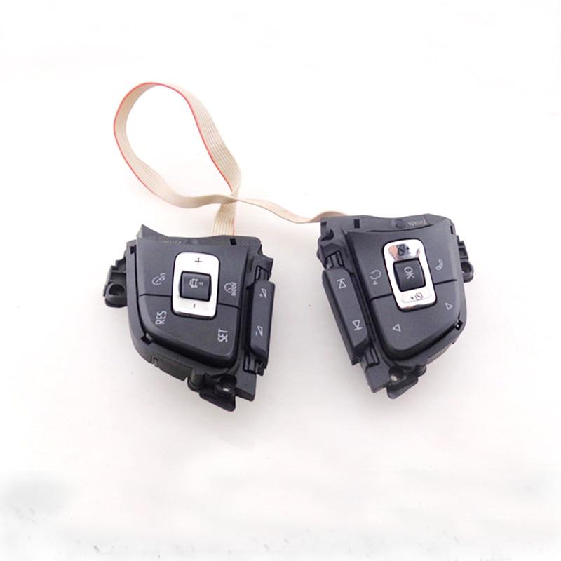 Multifunctional Steering Wheel Button Key with ACC MFSW Steer Switch for Golf 7 mk7 Sportsvan Passat B8 Variant