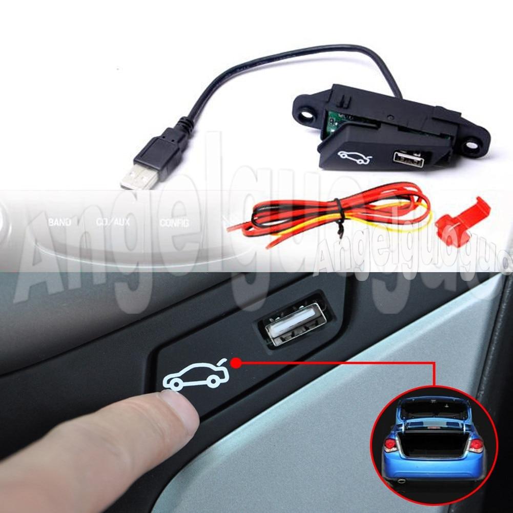 Conjunto de botão interruptor tronco do carro para chevrolet cruze 2009 a 2014 caixa bagagem abrir e fechar botão interruptor montagem do carro estilo