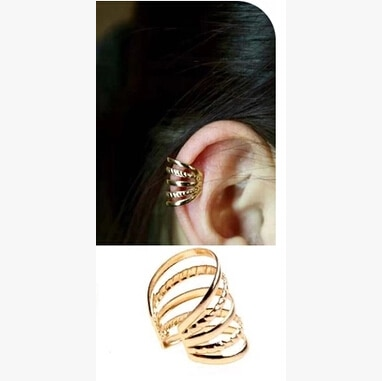 Timlee e025 graça moda estilo punk liga clipe de ouvido ear cuff atacado