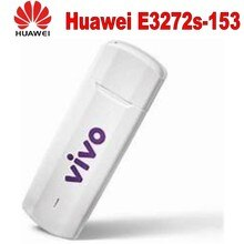 Huawei Unlock 150Mbps E3272 e3272s-153 4G LTE cat4 Modem 4G usb stick  with 2pcs 4g antenna