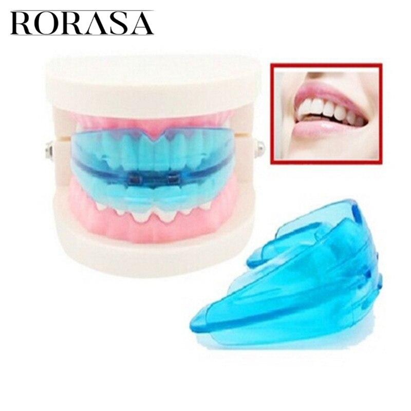 RORASA nouvelles accolades orthodontiques accolades dentaires sourire Silicone alignement des dents formateur retenue des dents protège-dents accolades plateau à dents