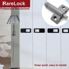 Rarelock Damping Buffer Light Gray For Furniture Kitchen Cabinet Door Stop Drawer Soft Quiet Close Closer DamperBuffersCatches d