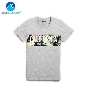 Gailang Brand New Arrival 2017 men Designer T Shirt Casual Quick Dry Slim Fit Shirts Tops & Tees Plus Size Men Cotton Tshirt New