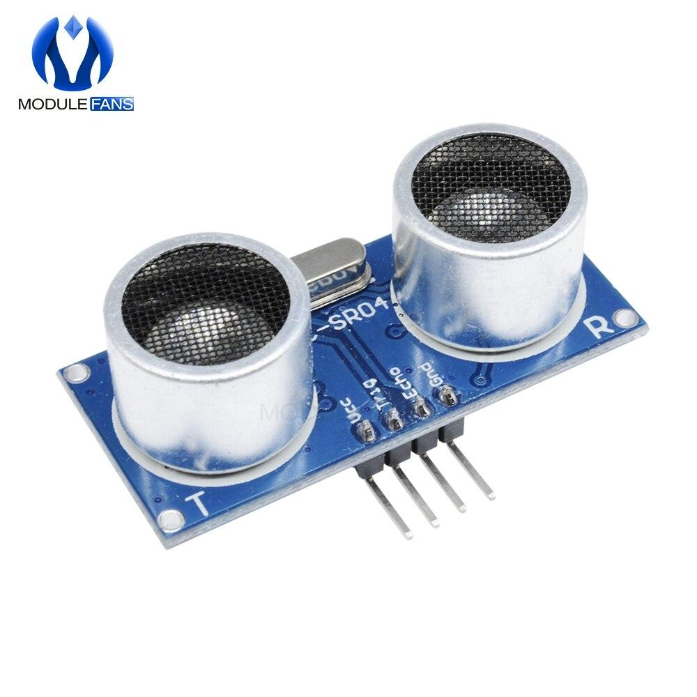 Ультразвуковой модуль, датчик измерения расстояния для Arduino HCSR04, 5 в пост. Тока, IO модуль датчика триггера HC SR04