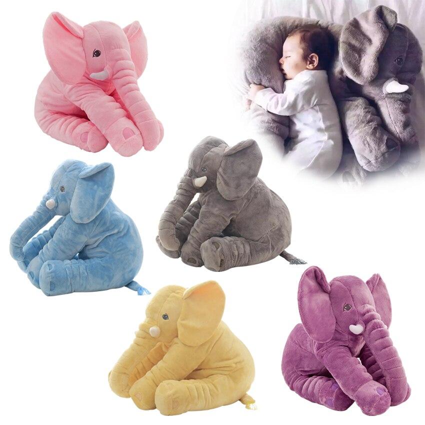 1 шт. Детская плюшевая игрушка слон 60 см|Мягкие игрушки животные| |