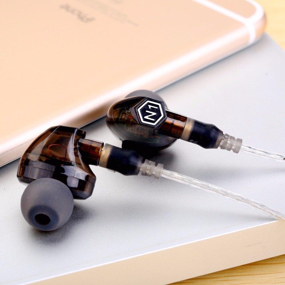 VJJB N1 динамические наушники, двойной драйвер, Hi-Fi бас сабвуфер, с микрофоном, кабель и аудио кабель, 3,5 мм, провод в ухе, сменный