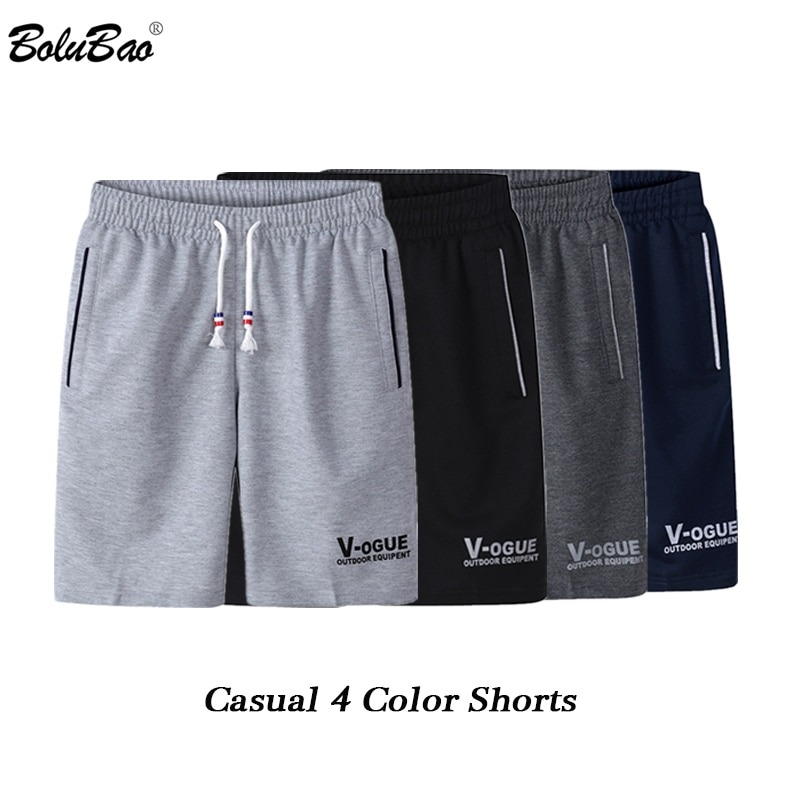 BOLUBAO Fashion Brand Men Casual Shorts Summer New Male Printing Drawstring Shorts Men's Breathable Comfortable Shorts