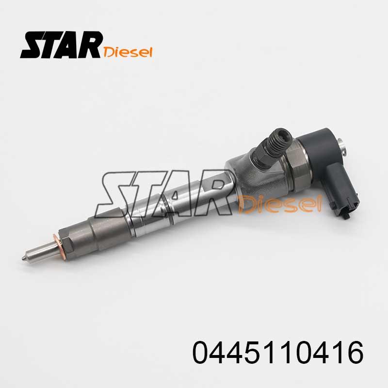 0 Injeção Common Rail Injector de Combustível 0445110416 445 110 416 Common Rail Diesel Injector 0445 110 416
