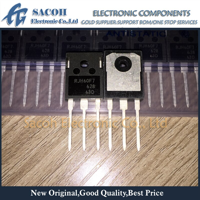 Envío gratis 10 Uds RJH60F7DPQ RJH60F7 RJH60F6DPQ RJH60F6-247 90A 600V transistor IGBT de alimentación