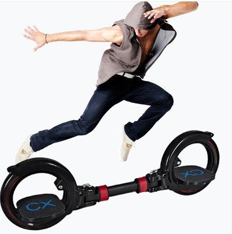 Nueva actualización de 2 patines de dos ruedas patines de dos piezas patinete de deriva plegable patinete acrobático para deportes extremos