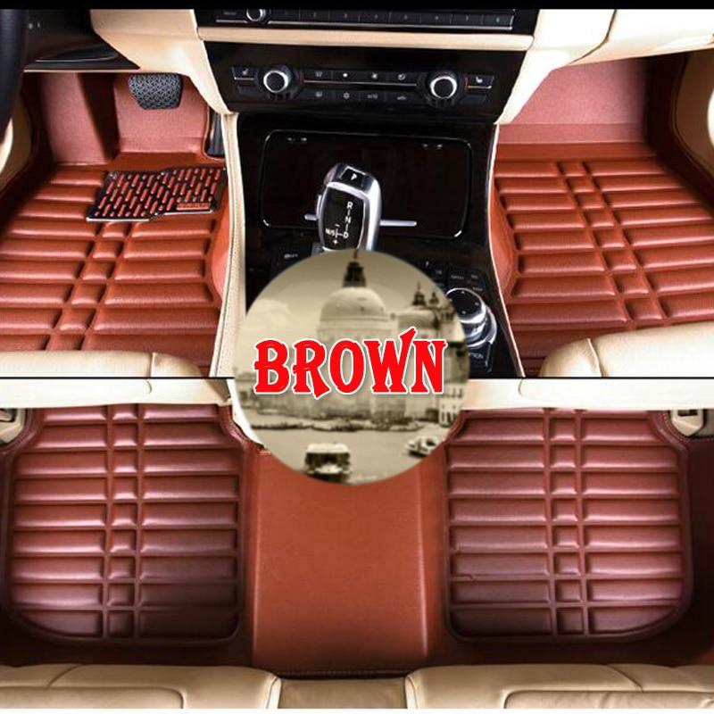 hot sales Custom  car floor mats for Jeep Grand Cherokee Wrangler Commander Compass Patriot 3d car-styling  carpet floor liner