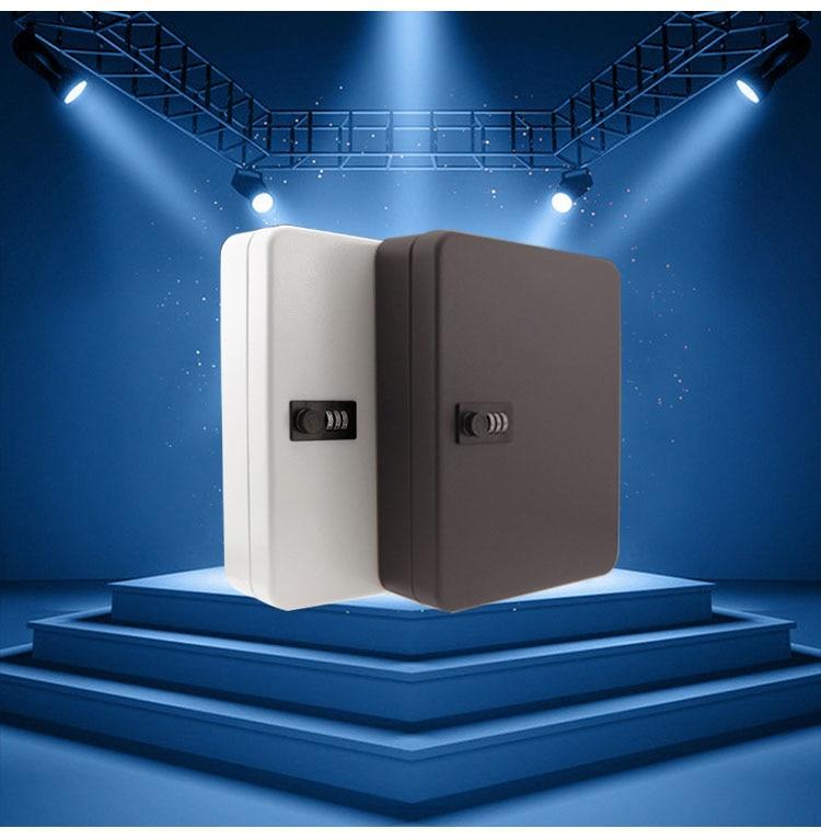 Настенный Сейф для ключей, сейф с кодовым замком, контейнер для хранения с 36 картами для ключей для компании, дома и офиса, подвесные автомоб...