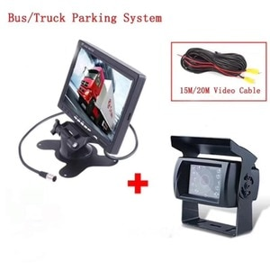 7 Inch TFT Monitor With Water-proof Camera For bus/truck Rearview Camera
