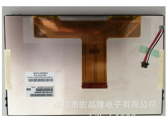 AUO C070VW04 V0 lugar pantalla LCD de 7 pulgadas del coche de la pantalla de LCD