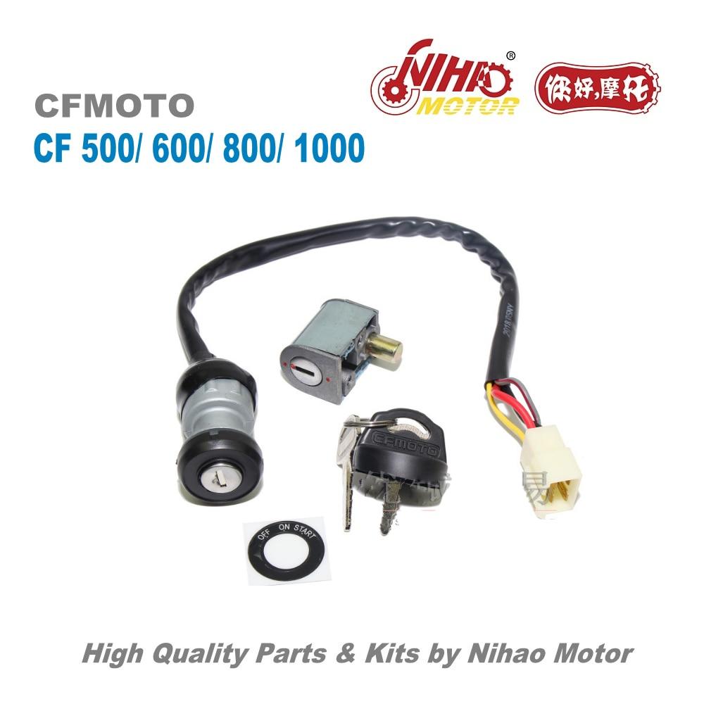 TZ-16A CF500 cerradura de encendido cfmoto piezas CF188 500cc CF MOTO ATV UTV Quad motor de repuesto