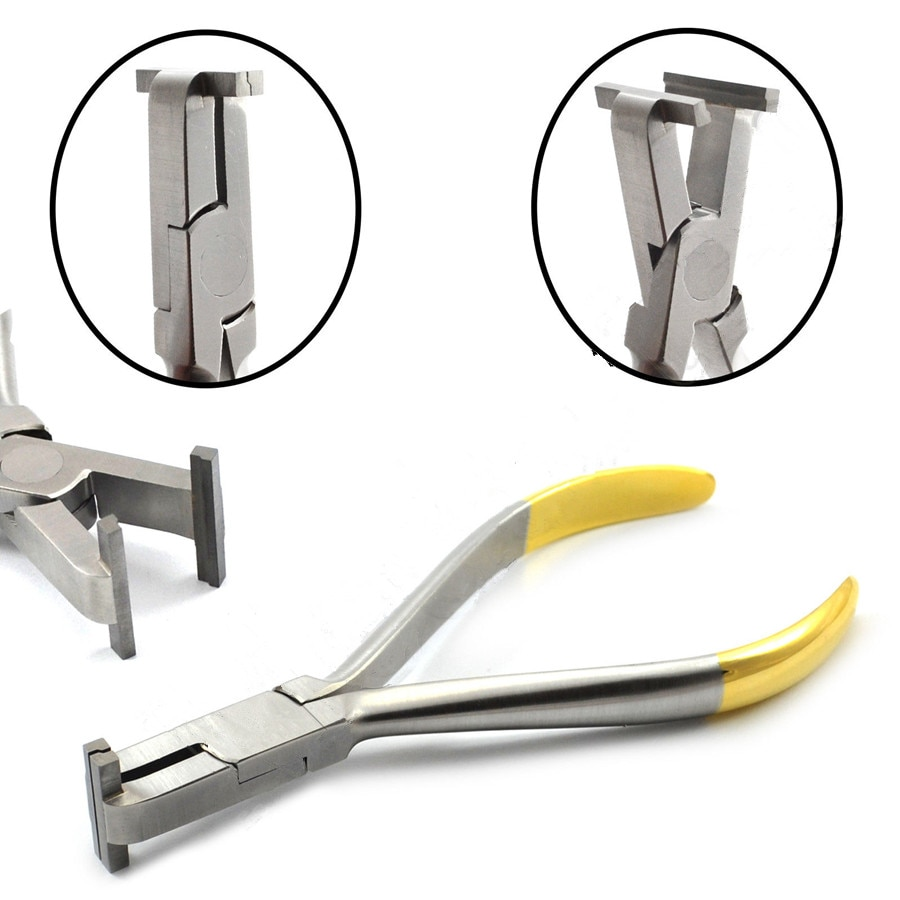 Pince étagée pour orthodontie, 0.5mm, outil de détail dentaire, Archwire, fabrication de marches