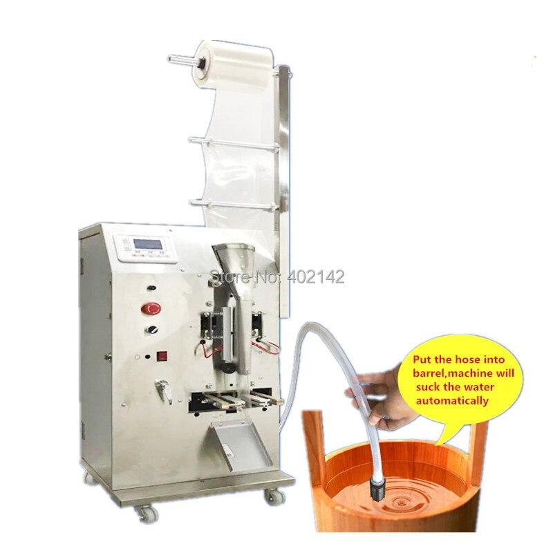 Empaquetadora automática de aceite de 10ml de bolsita líquida de 50ml