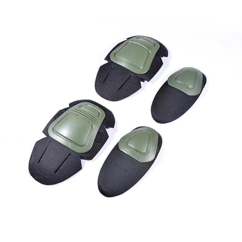 Тактический Пейнтбол G2 G3 лягушка костюм наколенники и налокотники Защитные