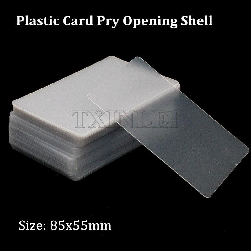 20-500 plástico de gran calidad tarjeta de apertura de la carcasa para reparación del marco del teléfono móvil herramientas de desmontaje