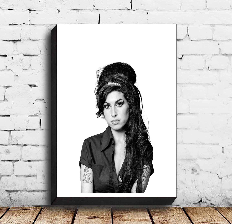 Amy Winehouse música Hip Hop cartel pared arte