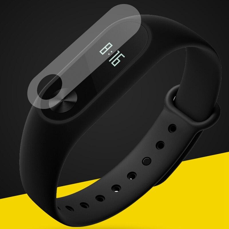 Protector de pantalla Anti-rayado de película HD para Xiaomi pulsera de correa inteligente Miband 2