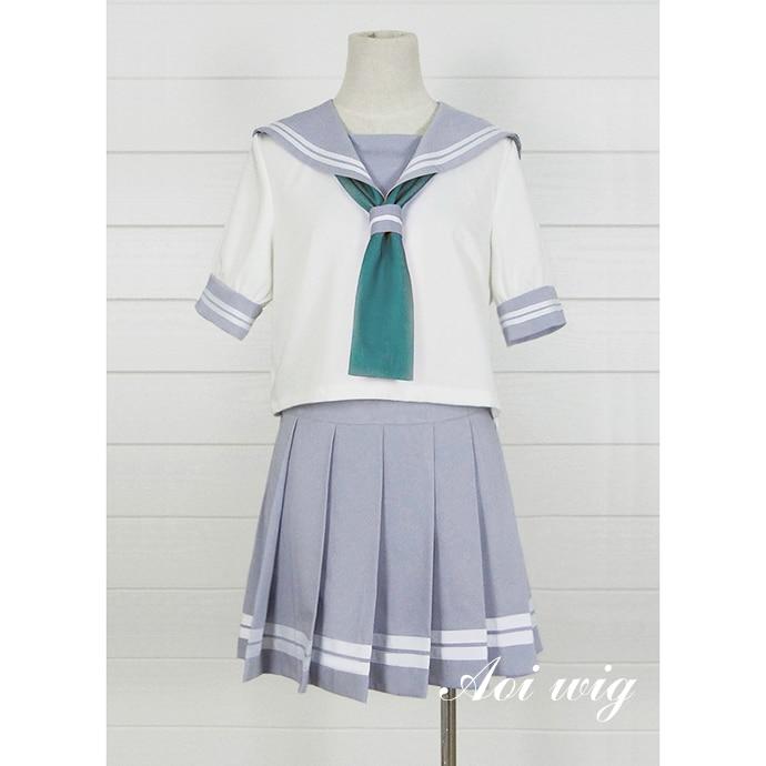 New LoveLive! Sunshine Cosplay Costume School Uniform Sailor Adult Costumes Halloween for Women S-XL