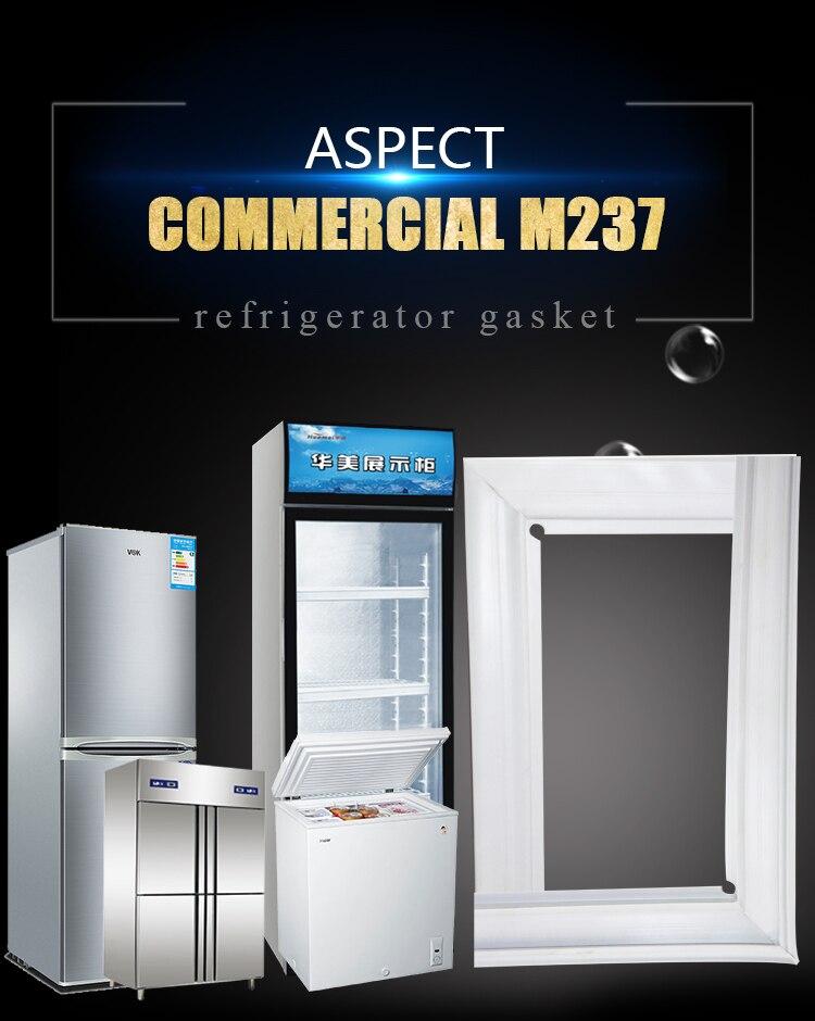 Gran oferta, nevera, puerta magnética, tira de juntas para congelador