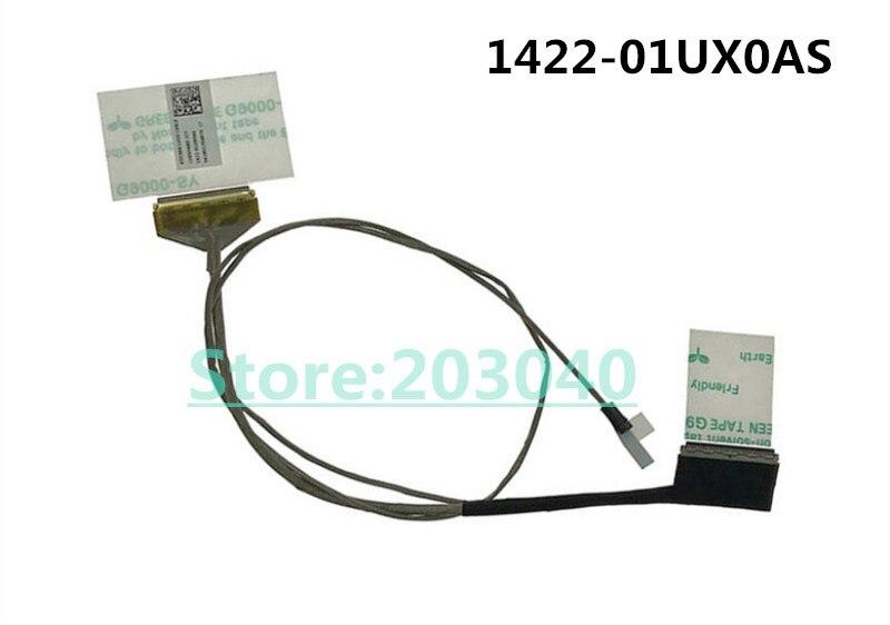 Original novo Laptop/notebook LCD/LED/LVDS cabo de Asus X553 X553M X553MA X503 X503M D553M 1422-01UX0AS LVDS