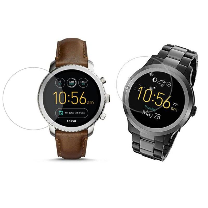 Protector de pantalla de vidrio para Fossil Q Wander/Control/Marshal/Venture/quirist/Sloane/Carvel HR/Founder Gen 1/2/3/4/5 reloj deportivo