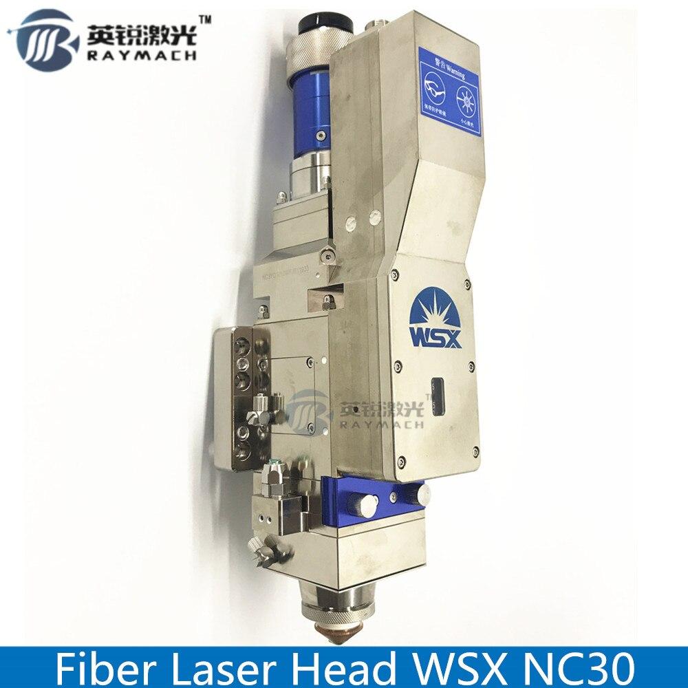 Cabeça de corte da fibra do laser da fibra wsx nc30 modelo peças sobresselentes do laser da fibra original focagem automática alta potência qbh