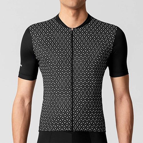 La Pa jerseys 2019 Pro Cycling Jersey Shirt Short Sleeve MTB bycicle Bike Clothing Men Maillot Ciclismo Hombre Maillot Ciclism