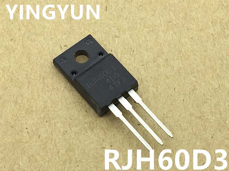 5p lot mr4020 to 220f 7 10PCS/Lot   RJH60D3  RJH60D3DPP RJH60D3DPE   TO-220F   Power IGBT Transistor