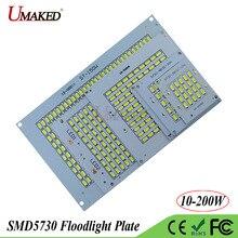 Plein Watt LED PCB SMD5730 COB projecteur plaque 10 W 20 W 30 W 50 W 100 W 150 W 200 W aluminium entendre la source de lumière de lévier pour la lampe de projecteur