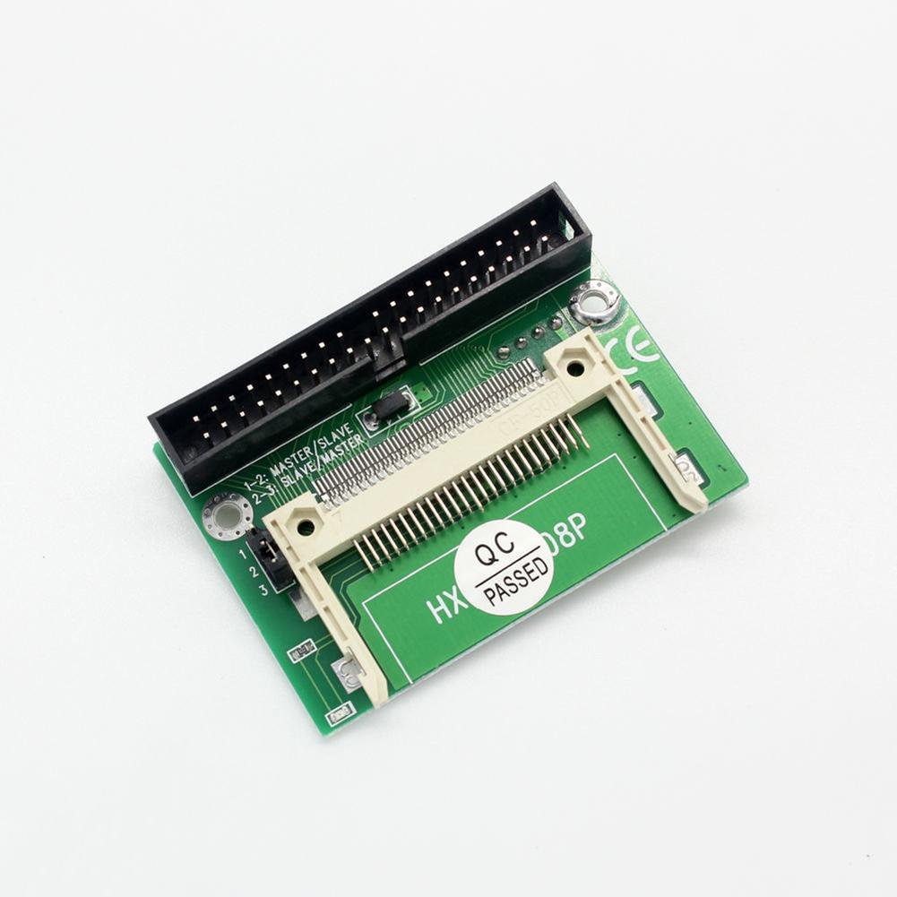Pro 5V CF flash compacto a 40 Pin IDE de 3,5 pulgadas de arranque HD convertidor adaptador disquete disco conector de alimentación
