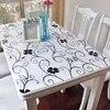 BALLE – nappe de Table transparente en PVC imperméable pour fête mariage cuisine maison salle à manger nouveauté 2019