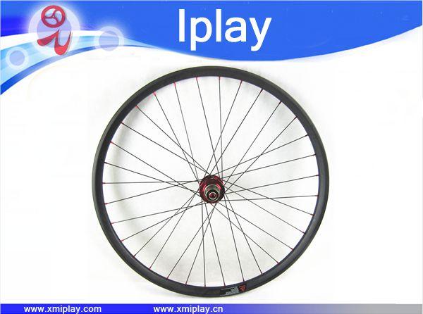 IPLAY promoção chinês Montanha Roda Da Bicicleta Roda De Carbono 29er Hookless 30mm de largura tubeless Rodas MTB Carbono