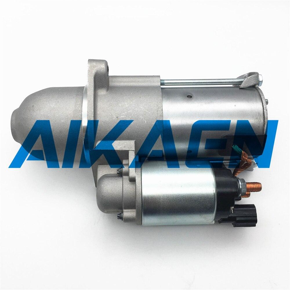 Motor de arranque para Hyundai Sonata Santa Fe L4 2.4L para KIA Optima Sorento 2359cc Motor de arranque del coche 12V 12V