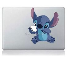 "Lilo e ponto adesivo decalque vinly para apple macbook 13 ""/15"" retina/pro/ar portátil 12 ""16"" portátil pele neve branco snoopy"