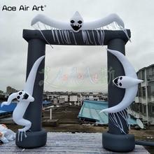 Alta prestazioni di Halloween Gonfiabili fantasmi arco, spaventoso entry way to hell per Casa Infestata da Ace Aria di Arte