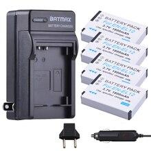 4 pièces EN-EL12 Batterie + Chargeur Kits pour Nikon COOLPIX S9900, A900, W300, S9300 S6300, S9200, AW120, AW130, S9700, KeyMission 360