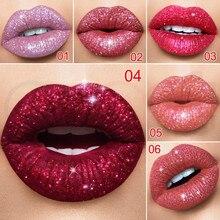 Mat à paillettes liquide rouge à lèvres caméléon or métal mat brillant à lèvres longue durée imperméable perle couleur lèvres teinte lèvres maquillage