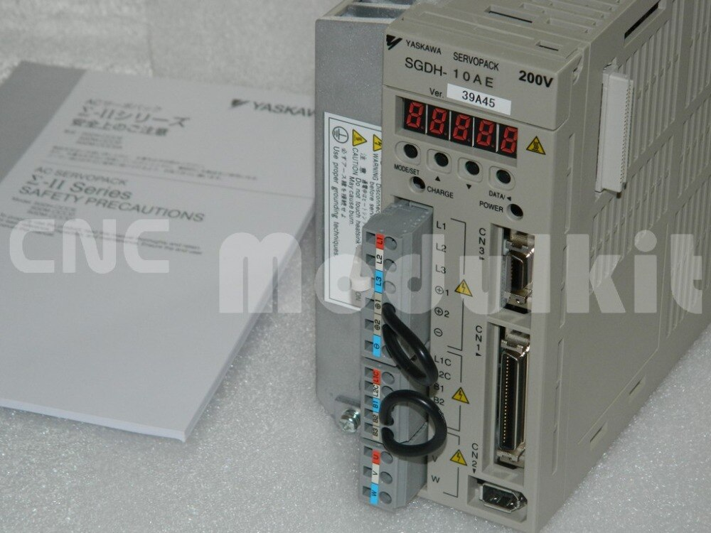 Оригинальный YASKAWA Новый сервопривод система SGDH10AE SIGMA двигатель II контроллер SGDH-10AE SERVOPACK 200-230 В переменного тока 3PH 1KW CNC модульный комплект