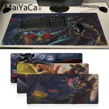 MaiYaCa Top qualité ligue des légendes tordu destin ordinateur portable jeu souris tapis de souris Unique tapis de bureau grande taille jeu tapis de souris