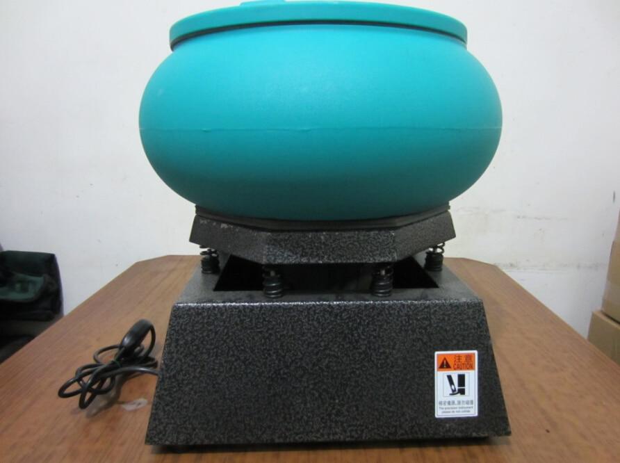 Máquina de pulido por secado vibratorio de vasos, pulidora de joyas y piedras, pulidora de vasos de joyería, máquina de pulido Limpieza de gemas
