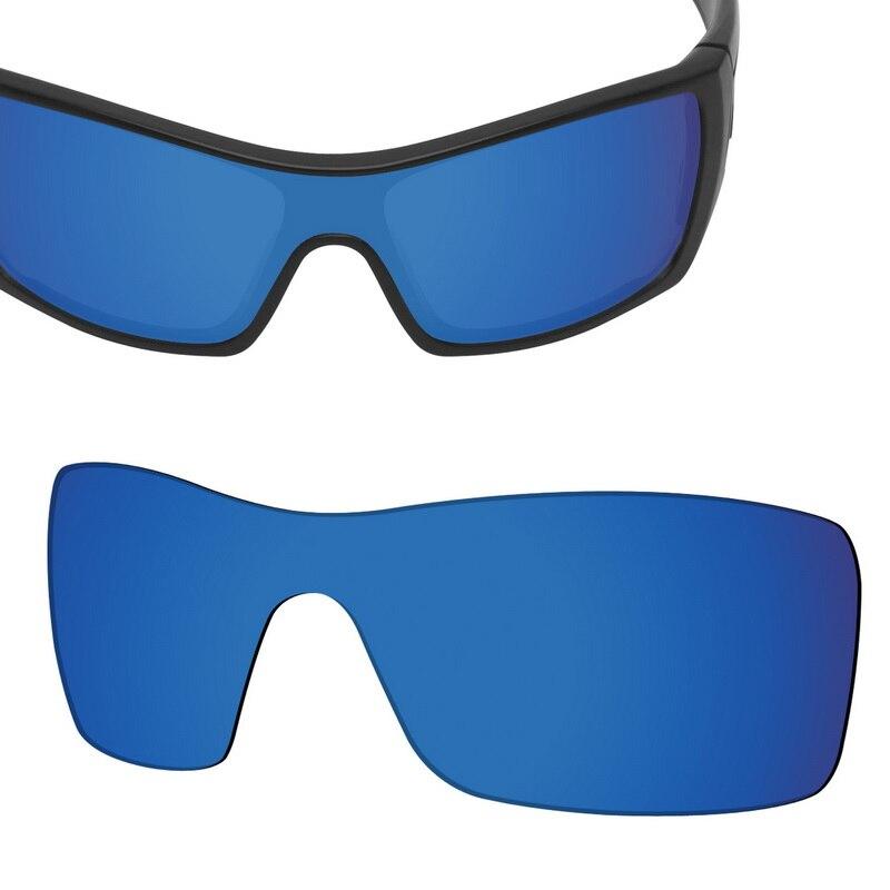 SmartVLT Replacement Lenses Polarized for Oakley Batwolf Sunglasses - Deep Water