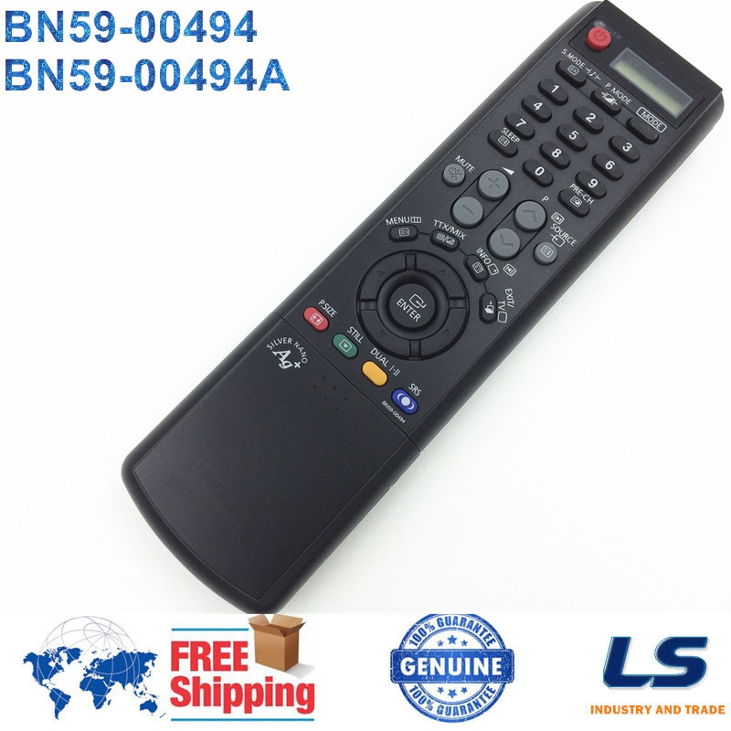 CONTROL remoto ORIGINAL BN59-00494 BN59-00494A para SAMSUNG TV de Plasma PL42P5H