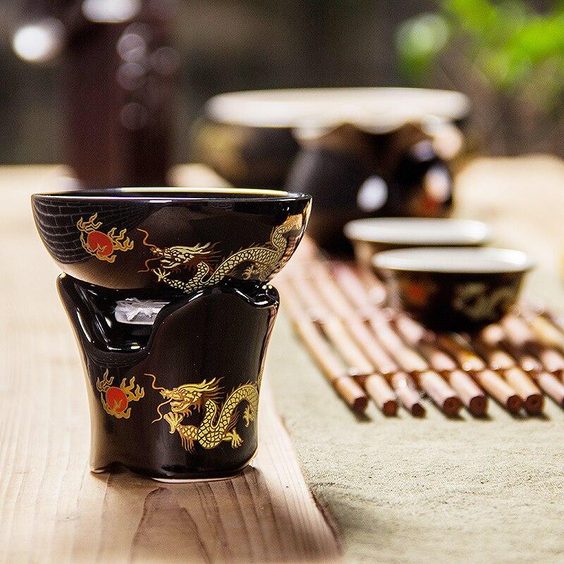 Tea Strainers Infuser Filter Colander Hand Crafts Tea Tool China Kung Fu Tea Set Ceramics Noble Teaset for Wedding and Gift D015