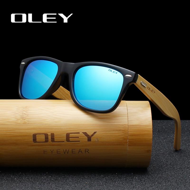 Мужские и женские поляризованные солнцезащитные очки OLEY, классические квадратные очки в стиле ретро с логотипом на заказ, модель YZ2140