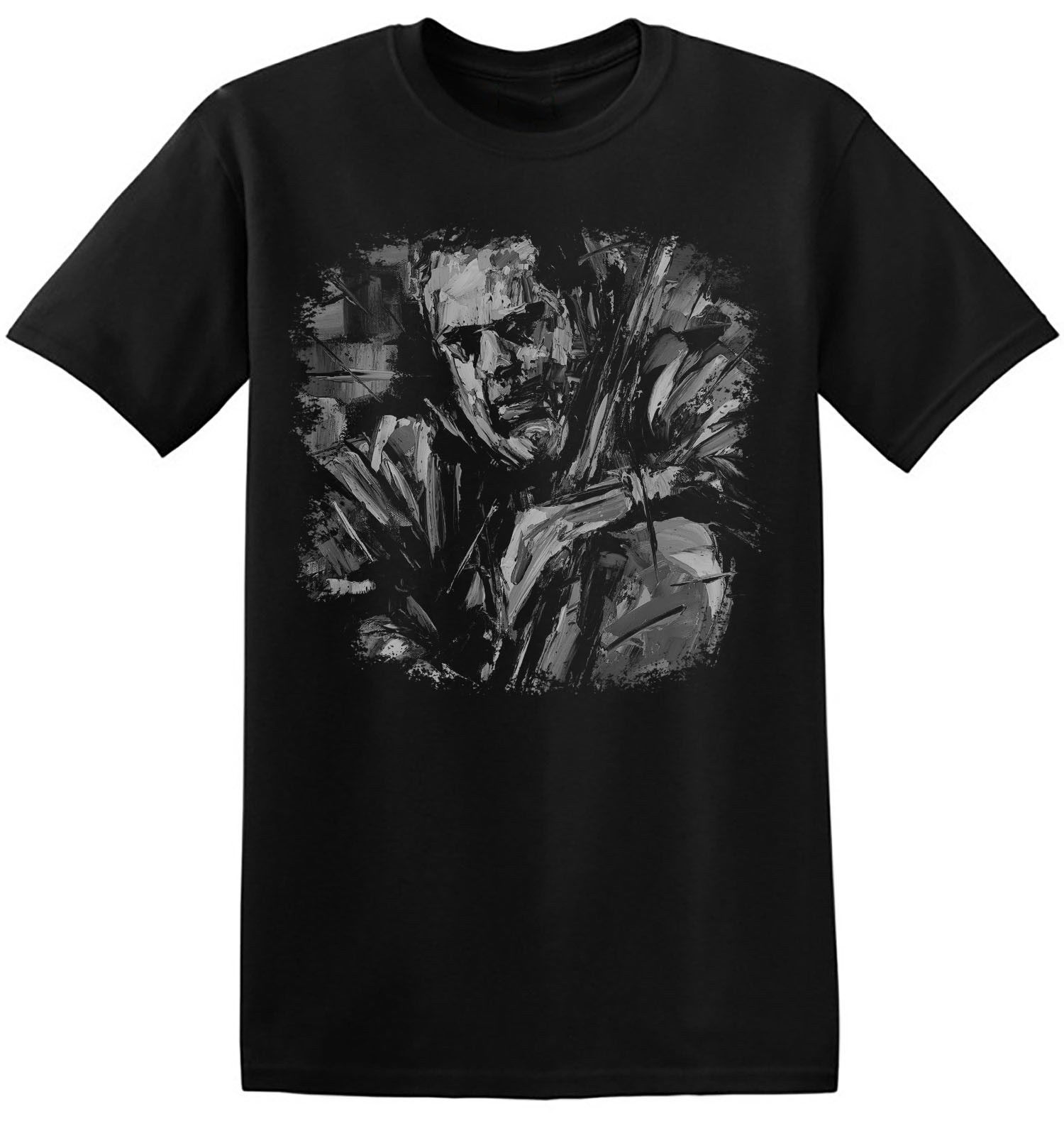 Charles mingus t camisa de impressão gráfica preto história jazz música banda t 4-a-040 masculino o-pescoço camisetas impressas